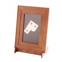 MC Photo Frame Trick -Magic Tricks,Selected Card/Bill Appearing on Glass, Stage ,Gimmick,Accessories,Props,Comedy,Classic Toys got it covered umbrella magic magic trick magic device stage gimmick illusion card magic