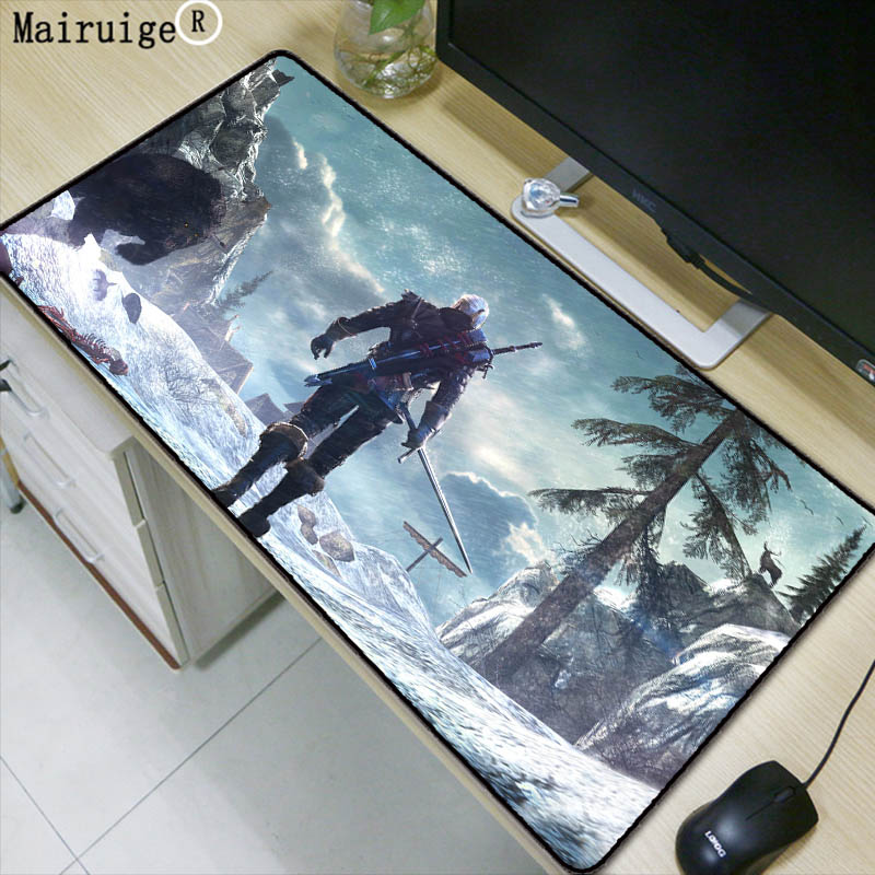 Mouse Pads Mairuige 90x40cm Dota2 Speed Locking Edge Large Natural Rubber Gaming Mouse Pad Waterproof Game Desk Mousepad Mat For Csgo Lol Comfortable Feel