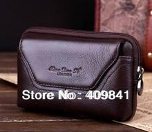 100% из натуральной кожи ремня сумка кроссовер талии case для звезды F9006 мини MTK6582 Quad Core Android Мобильный Телефон со Стеклом мешок
