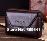 100% Genuine Leather Belt pouch Crossover Waist Case for Star F9006 mini MTK6582 Quad Core Android Mobile Phone with Glass Bag