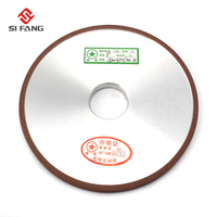 150mm thickness 10mm Diamond Flat Disc Grinding Wheel Grinder Grit 150/180/240/320 For Carbide Abrasive Tools Resin Bond flat