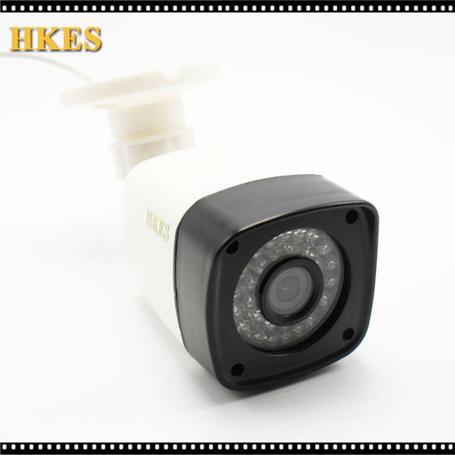 Nova Chegada 1920*1080 P AHD 3000TVL Mini Vigilância de Segurança Ao Ar Livre À Prova D' Água 30 pcs Câmera de CCTV 2MP infravermelho Livre grátis