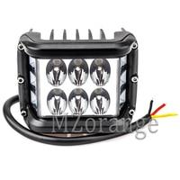 MZORANGE Work Light 4 60W 7D LED Light Bar Strobe Led Combo Auto Driving Offroad Led Bar for Truck Boat SUV ATV 4x4 4WD 12V 24V