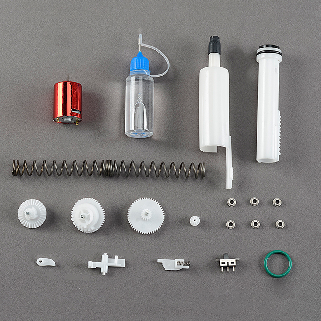 NFSTRIKE Exterior Modified Kit Gearbox Upgraded Kit for Xiaoyueliang AK12 Water Gel Beads Blaster Modification Replacement 2018