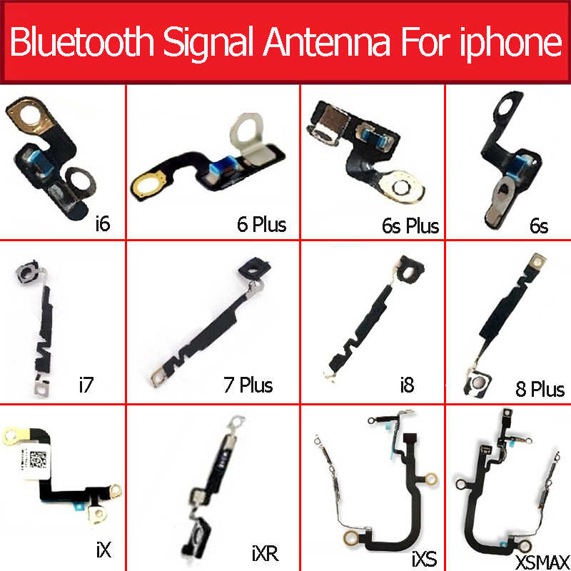 Antena de señal Bluetooth Original para iPhone 6 6s 7 8 plus X XR XS MAX NFC Chip Cámara Clip botón Webcam a la derecha