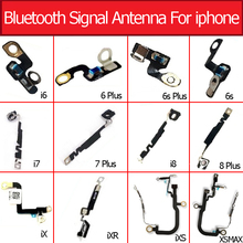 Original Bluetooth antenna signal Antenna For iPhone 6 6s 7 8 plus X XR XS MAX NFC Chip Camera Clip Button Webcam on the right