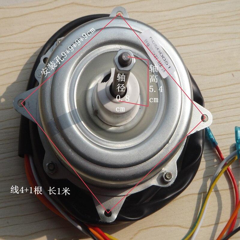 outdoor fan motor YDK 36-6 24-6N air condtioner motor clockwise direction A/C motor