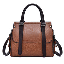 ICEV korean style famous brands womens leather handbag designer high quality top handle bag ladies office clutches solid zipper