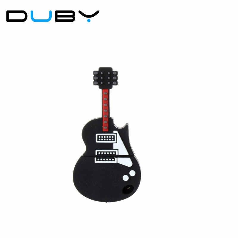 Echte pen stick violine musical instrument USB Flash memory Stick usb-stick 4 GB 8 GB 16 GB 32 GB 64 GB 512 gitarre usb stick