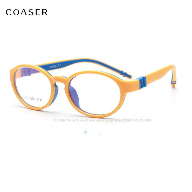 66e3350ec1e Baby Children Glasses Optical frame Girl Boy Vision Glasses Fit Computer  Reading Prescription Clear Lens Kids Nerd Spectacles