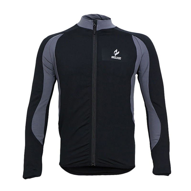 High Quality Men Fleece Cycling Jersey Quick Dry Long Sleeve Cycling Wear Winter Thermal Fleece Cycling Clothing black thermal fleece cycling clothing winter fleece long adequate quality cycling jersey bicycle clothing cc5081