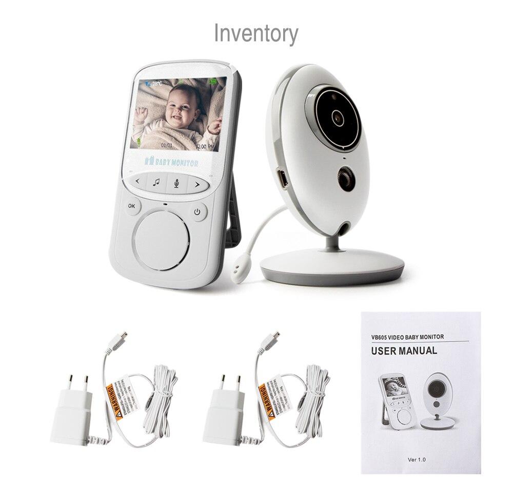 11 wireless digital video baby monitor