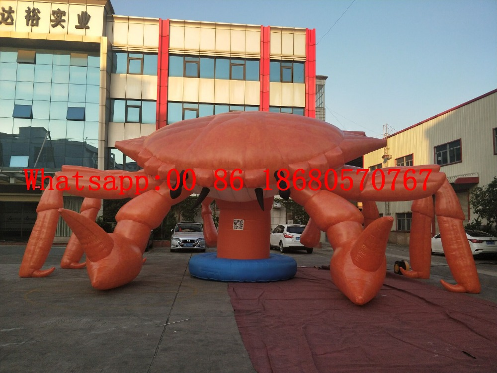 (Chine Guangzhou) grand dessin animé gonflable, crabe gonflable, dessin animé de homard gonflable BY-1461