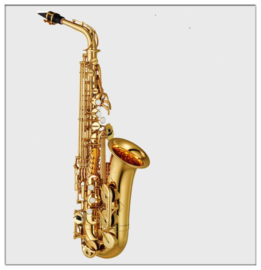 Alto Sax Top Music Instrument YAS875EX new High quality saxophone profissional Reference electrophoresis gold Real picture Free yas 82z saxophone e flat alto saxophone top music high quality sax electrophoresis gold dhl ups shipping
