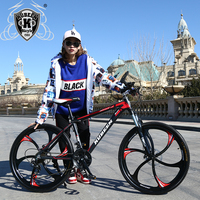 Mountain Bike Aluminum Mountain Bike 21 Speed Bicycle 26 Inch Variable Speed Mountain Bike Dual Disc