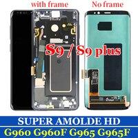 Super AMOLED для 5,8 samsung Galaxy S9 ЖК дисплей S9 плюс + Дисплей Сенсорный экран планшета Ассамблеи для 6,2 samsung S9 плюс G9650 ЖК дисплей