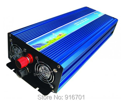 2500w inverter pure sine wave max 2500w power DC12V/24V/48V/110V to AC 50Hz/60Hz for solar wind home use fotovoltaikus Inverter