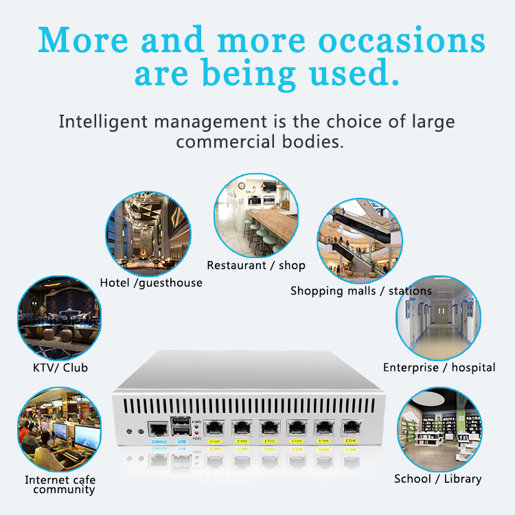 US $102 0  D525 firewall server dual core 1 8GHz Desktop mode 6*Intel  82538V 1000M network support pfSense-in Mini PC from Computer & Office on