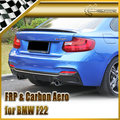 New Car Styling For BMW F22 EXOT Style Carbon Fiber Rear Diffuser