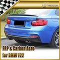 Nuevo Estilo Del Coche Para BMW F22 EXOT Estilo Fiber Carbon Rear Difusor