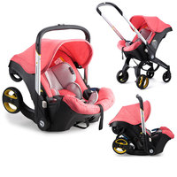 4 In 1 Car Seat Stroller Newborn Baby Carriage Baby Bassinet Wagen Portable Travel System Stroller with Car Seat Baby Comfort