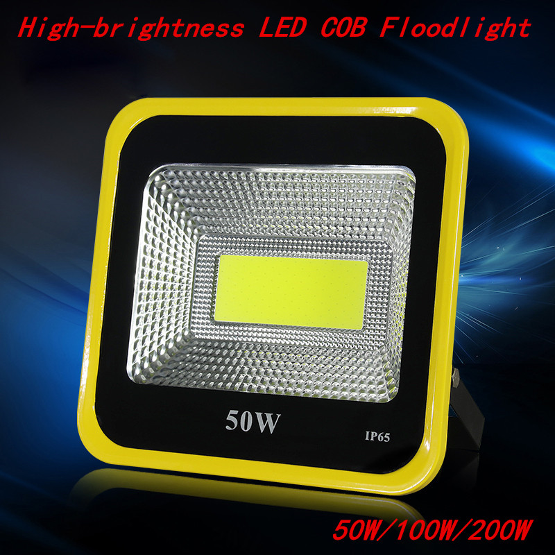 LED Flood Light Waterproof IP65 20W 30W 50W 100W 150W 200W 85-265V LED Floodlight Spotlight Fit For Outdoor Wall Lamp lexing lx tgd 5 30w 1900lm 7000k led white spotlight w stand black silver grey 85 265v