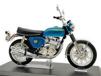 1:12 Aoshima SKYNET Finished Diecast Motorcycle Honda Dream CB750 FOUR Blue Model Bikes