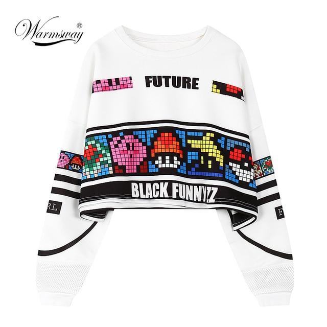 Camisola da mulher letras harajuku sexy top safra do punk hop hoody tamanho grande feminino moleton sudaderas mujer moda WH-063