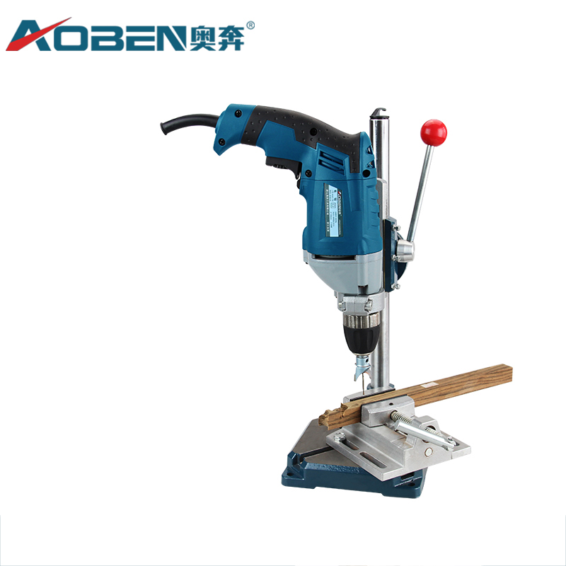 все цены на AOBEN 1PC Electric Drill Stand Precision Power Rotary Tools Bench Drill Accessories Multifunction Fixed Bracket Base Power Tools