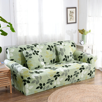Floral Sofa Cover Spandex Colorful Covers for Sofas Elastic Sofa Cover for Furniture/living Room Singel/double 54