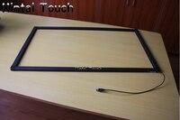 84 дюймов 4 точки сенсорный ИК мульти сенсорный экран для интерактивного стола, Интерактивная стена