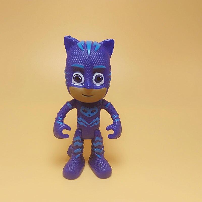 Cartoon Pj Figure Masks Character Catboy Owlette Gekko Figures Mask Toys Birthday Gift Toys For Children