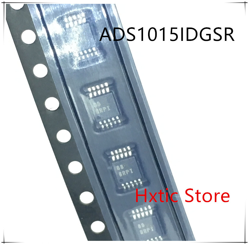 NEW 10PCS/LOT ADS1015IDGSR ADS1015IDGST ADS1015 MARKING BRPI MSOP-10 IC