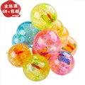 6.5 salto de flash Colorido bola de cristal Luminoso bola elástica brinquedo das crianças Ao Ar Livre brinquedos bola de brinquedo bola de presente