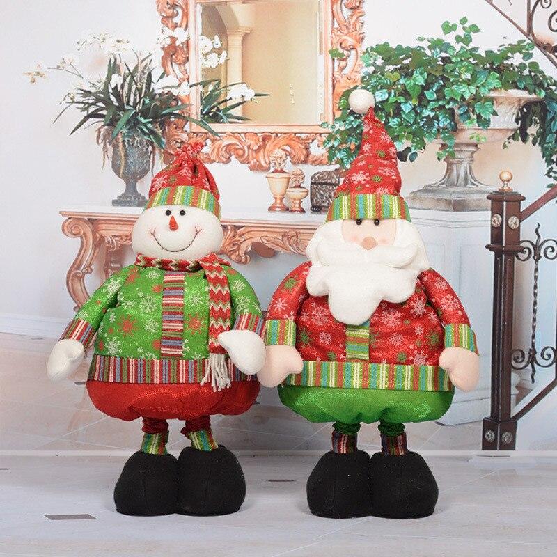 Hot Sale Large Santa Claus Snowman Christmas Window Decoration