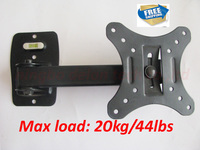 Free Shipping 10 Inch 24in 30 Inch Tiltable Swivel LCD LED PLASMA Tv Wall Bracket Mount