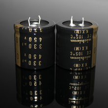 2PCS/10PCS Original Japan NICHICON KX 450V 330UF Tube Tube High Voltage Audio Electrolytic Capacitor FREE SHIPPING 100pcs 6kv 1000pf 102 high voltage ceramic capacitor