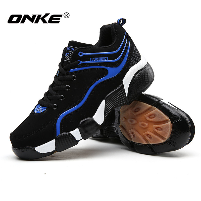 2016 Onke Professional Men Running Shoes Fall/Spring Sport Shoes for Man Lace-up Waterproof Sneakers Cozy Walking Shoe 815