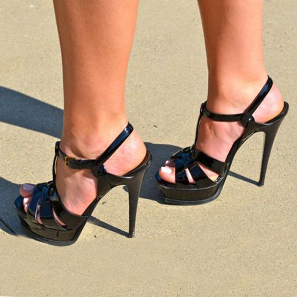 11 colors NEW 2019 WOMEN shoes woman 13.5/10.5cm high heels platform shoes pumps sexy party wedding brides sandals woman