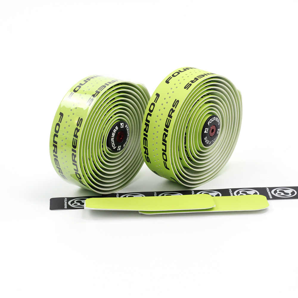 2Pcs Fouriers Road Bike Bicycle Drop Bar Handlebar Tape Wraps  PU Bike Belts