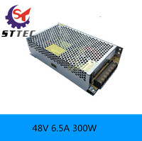 High Quingity 300w Switching Power Supply 48v Dc Electrical Equipment Supplies 6 5A Power Device Free