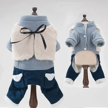 2019 Popular Chihuahua Dog Clothes For Small Dogs Spring Pet Dog Coats Jackets Cats Clothing Overalls For Puppy XS/S/M/L/XL xinyi xs s m l xl