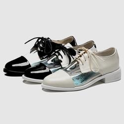 DoraTasia 2019 New 33-42 Fashion Girl Polka Dot Spring Pumps Women Genuine Leather Transparant Casual Women Heels Shoes Woman 2