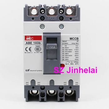 ABE103b Authentic original ABE 103b LS Molded case circuit breaker ABE-103B Air switch 3P 40A/50A/60A/75A/100A фото