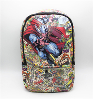 Thor cosplay bolsa de hombro Mochila ordenador school la Bolsa de Libros de Marvel Comics