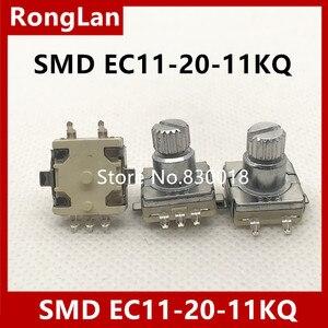 [BELLA] предварительно автомобильный аудио цифровой потенциометр поворотный кодер переключатель SMD EC11-20-11KQ -- 50 шт./лот
