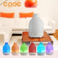 CRDC 200 ML 7 Colores Luz Humidificador Ultrasónico Aroma Difusor de Aceite Esencial de Aromaterapia Eléctrica 110 V-240 V para el Hogar