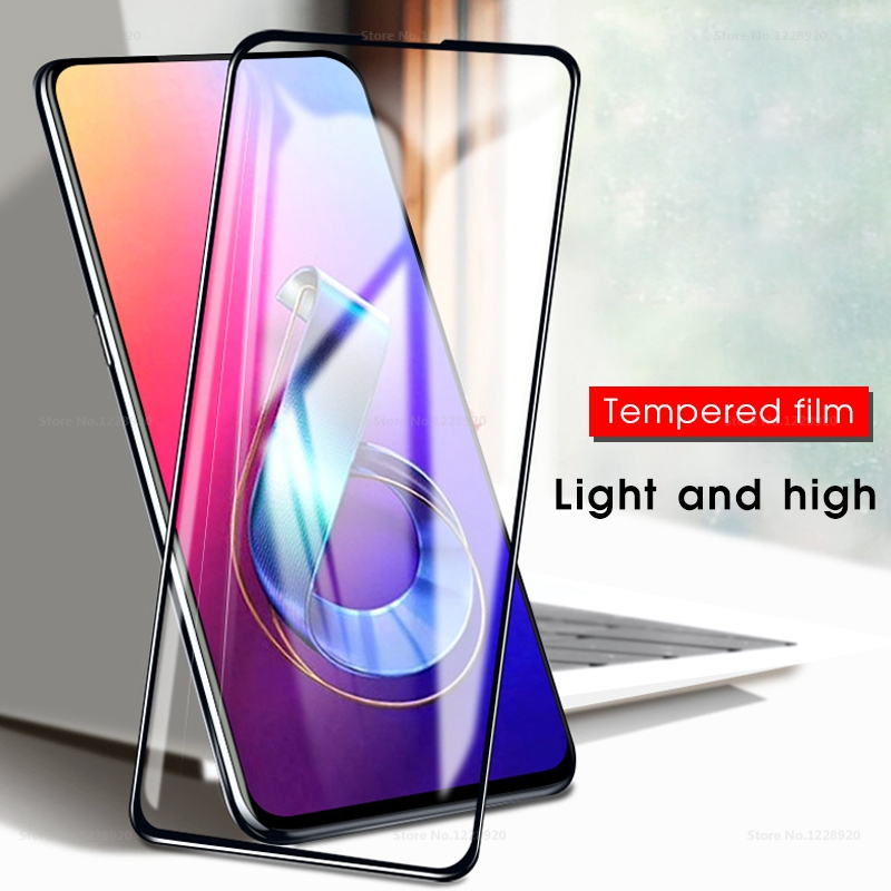3D Full Screen Protector Glass For <font><b>ASUS</b></font> <font><b>Zenfone</b></font> <font><b>6</b></font> <font><b>2019</b></font> <font><b>ZS630KL</b></font> 6Z Full Cover Tempered Glass For <font><b>Asus</b></font> Zenfone6 Protective Film image