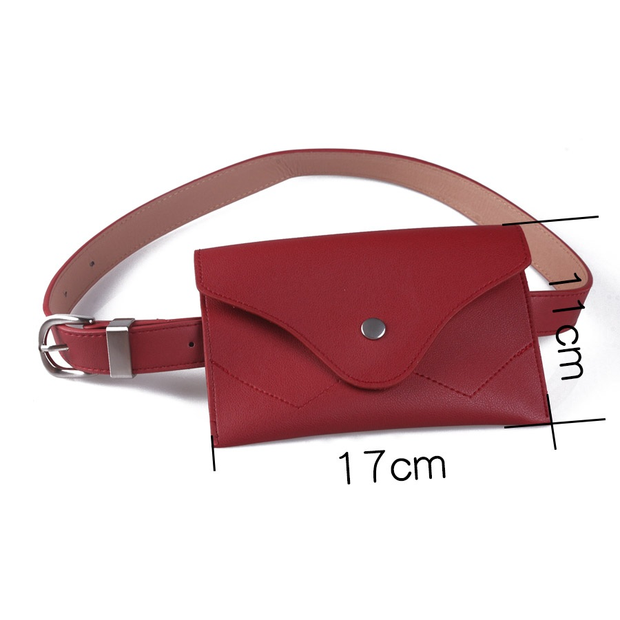 Купить с кэшбэком Women's waist bag pack Female bag for Belt PU leather belt bag pouch for Travel Money Phone Fanny Bag Pack Girl hip pack bum