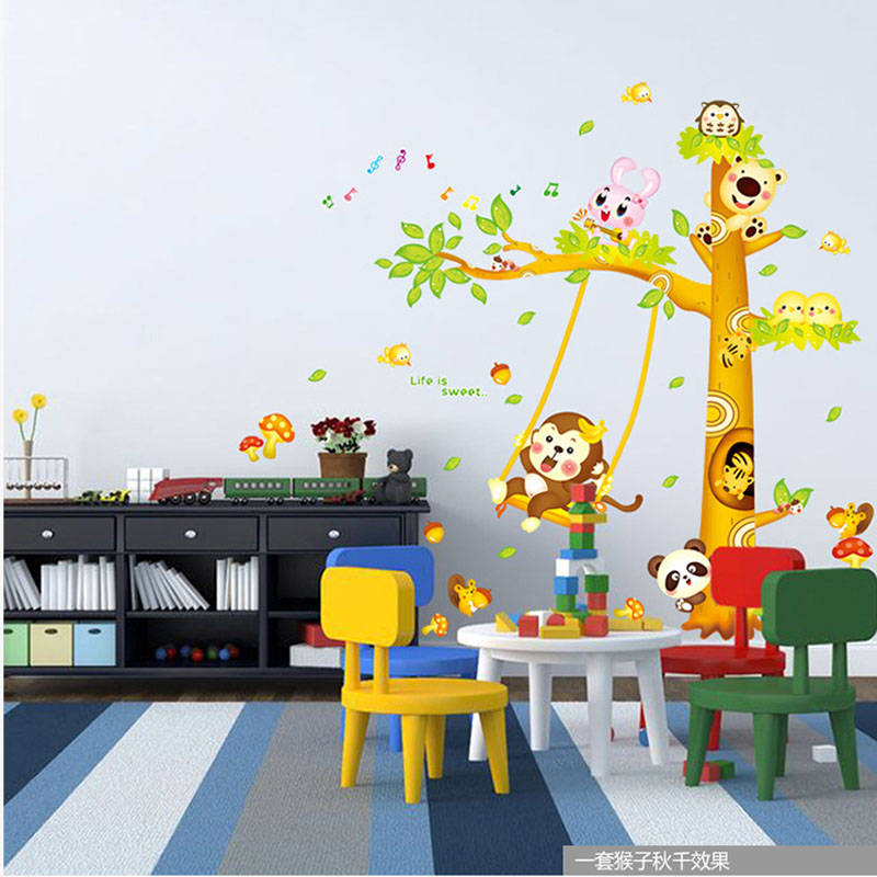 Wall Decoration Kindergarten : Sticker candy picture more detailed about